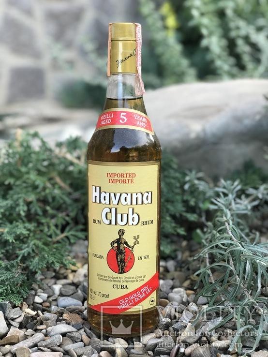 Ром Havana Club 1980s