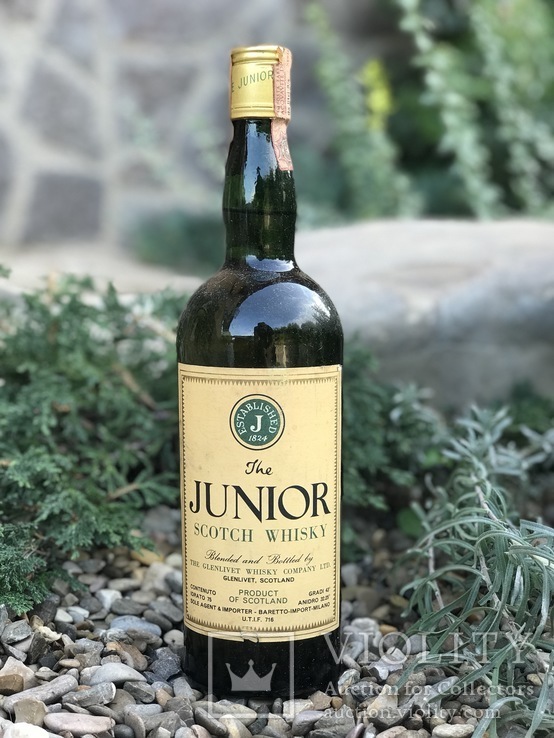 Виски Junior by Glenlivet 1970s