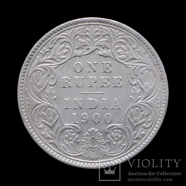 1 Рупия 1900 Виктория, Британская Индия