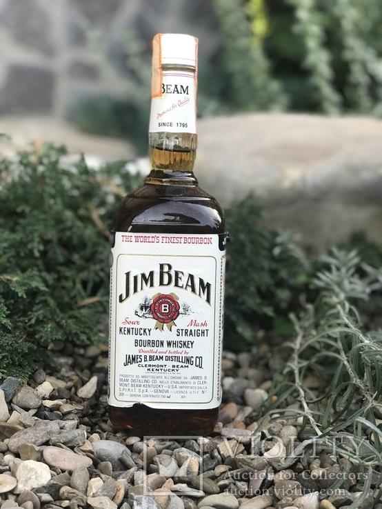 Виски Jim Beam 1980s