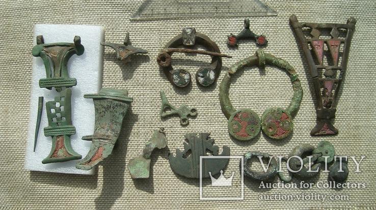 Коллекция предметов Киевской Культуры (2-4вв.)