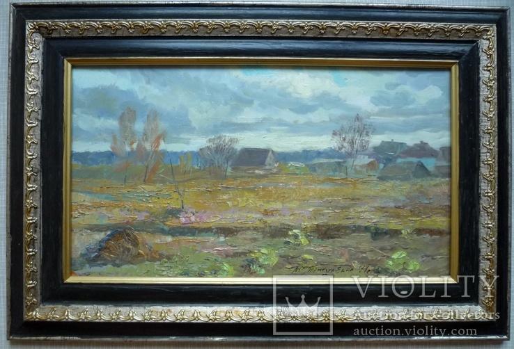 В.Титуленко (Киев). Пейзаж в раме