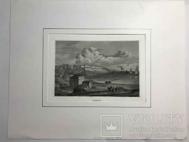 Гравюра Одесса 1832 год