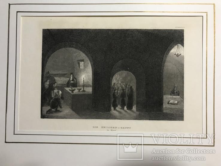 Гравюра Киев  1832 год.