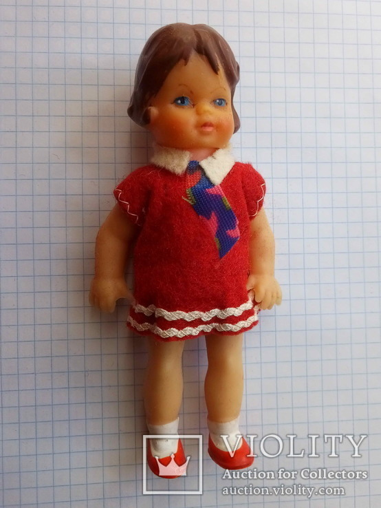 Кукла ГДР 3388 ARI 12,5 см. (August Riedeler GmbH &Co. KG), фото №2