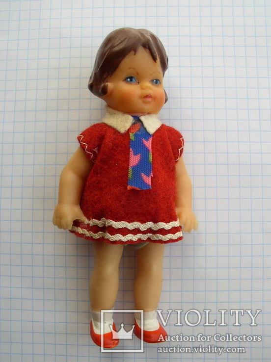 Кукла ГДР 3388 ARI 12,5 см. (August Riedeler GmbH &Co. KG), фото №9