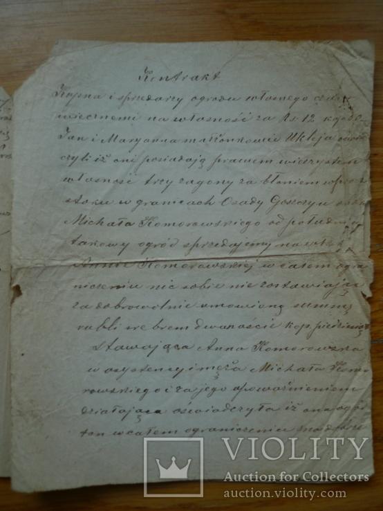 Контракт 1886 год + бонус, фото №4