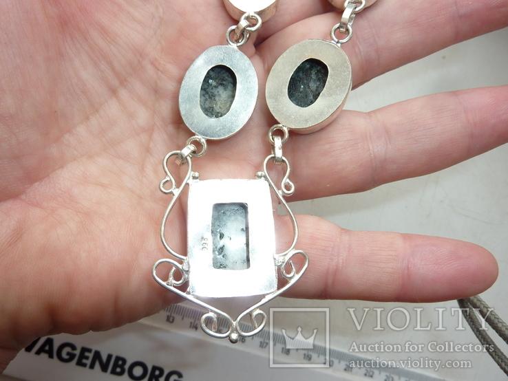 Ожерелье из дендрит опалов, фото №4