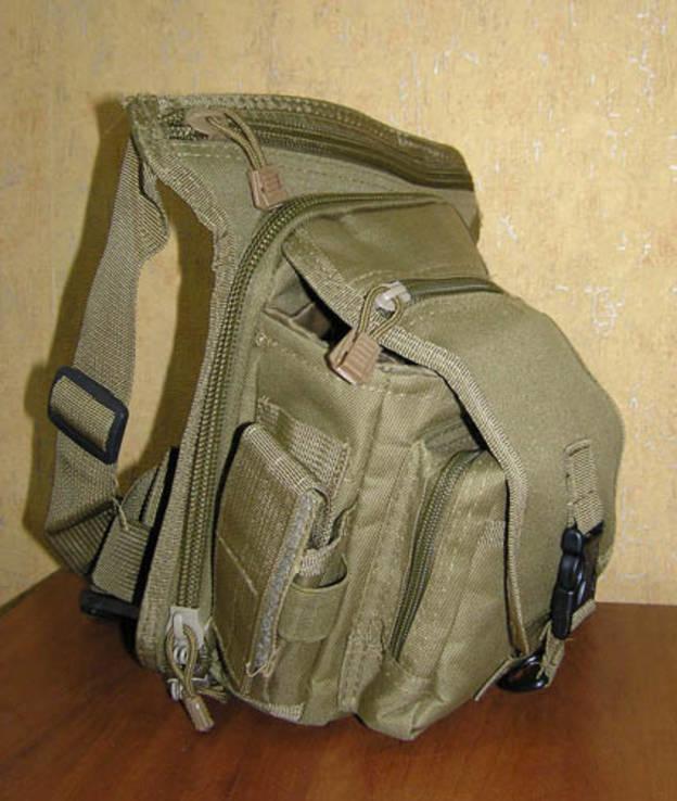 Тактическая сумка набедренная (хаки) новая - «OXO VIOLITY» 7dc9e2f7a61cc