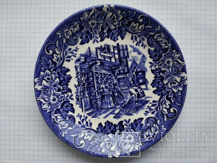 Blyudce Tarelka Dichens Series English Ironstone Tableware Limited