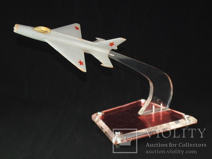 Сувенир, самолёт ЯК - 18П, МИГ - 21., фото №7