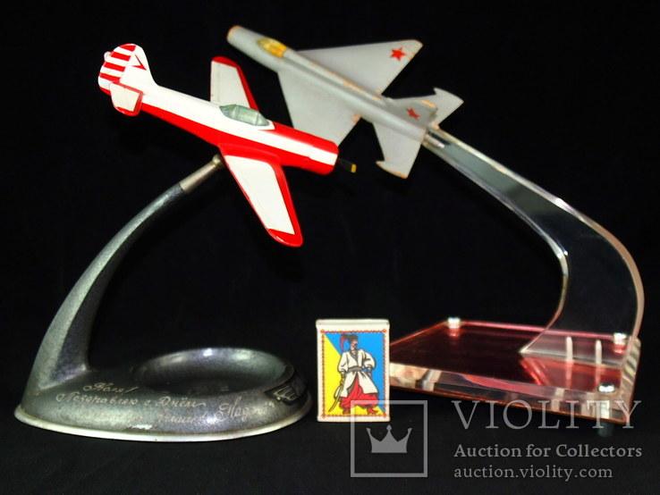 Сувенир, самолёт ЯК - 18П, МИГ - 21., фото №11