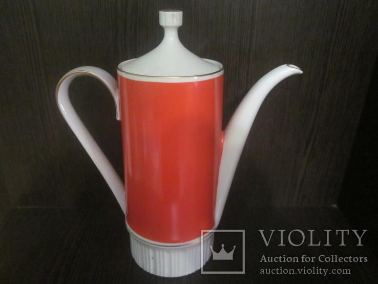 Чайник - заварник ГДР ( тончайший фарфор), фото №3