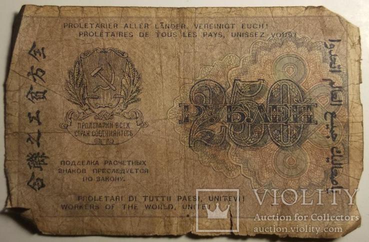 250 рублей 1919г., титов АА-011, фото №3