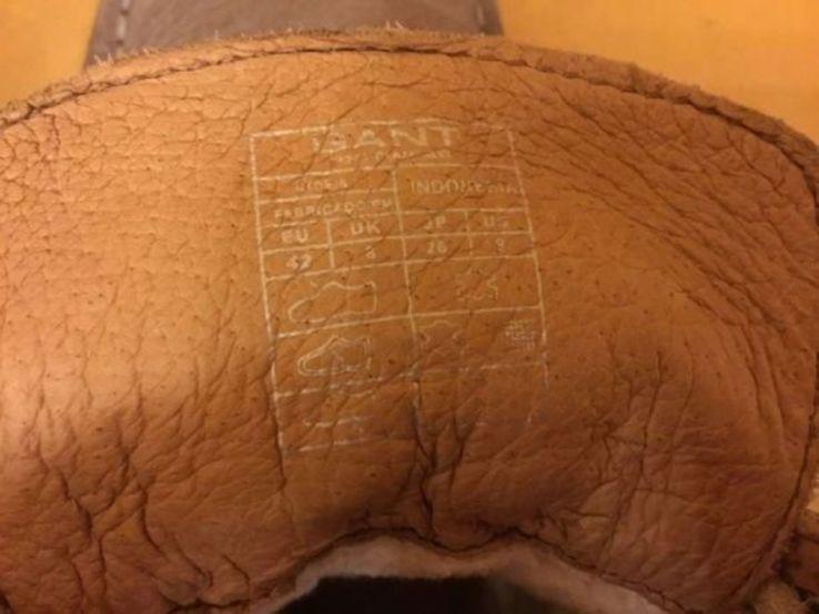Ботинки GANT, оригинал, р.41,5, фото №6