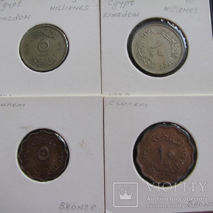 Египет ( 4 монеты ), фото №2