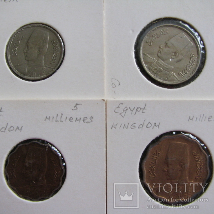 Египет ( 4 монеты ), фото №3