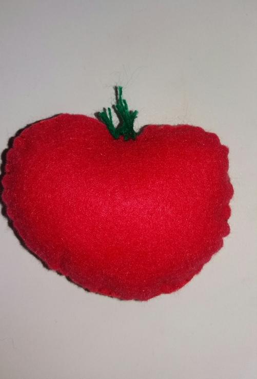 Овощи и фрукты из фетра, фото №6