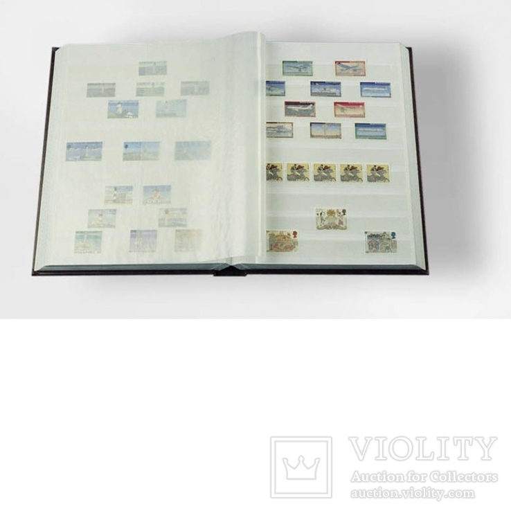 Альбом/Кляссер 32 листа (64 стр.) Leuchtturm А4, фото №2