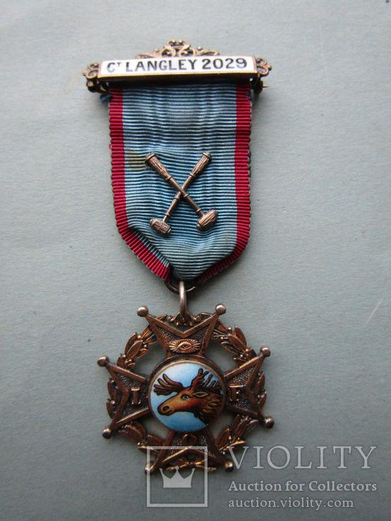 Наградной знак ордена лесников 1926 г.