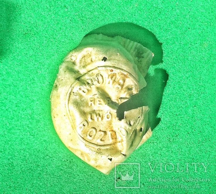 Пробка BROWAR ROZDOL REEP LWOW. Конец XIX начало XX века., фото №2