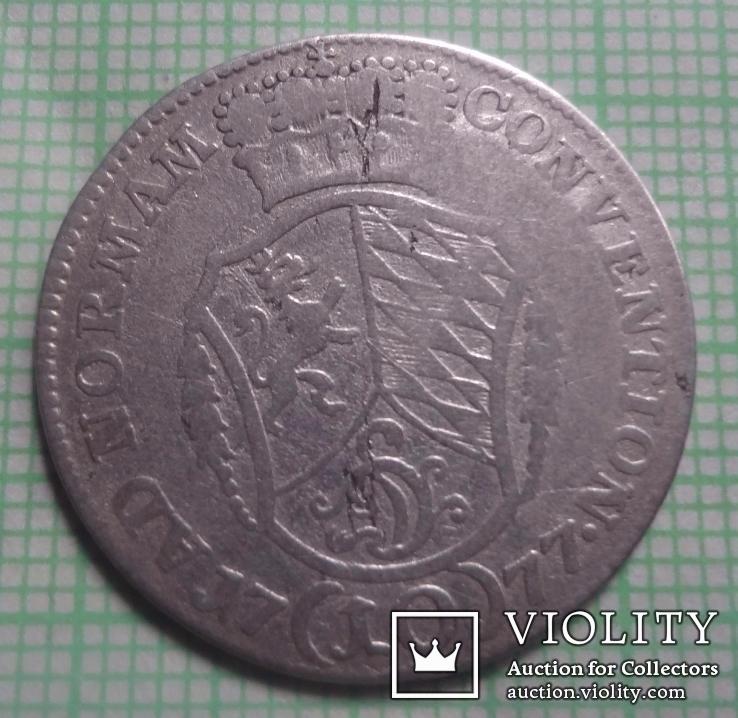 Германия 10 крейцеров 1777 серебро (1.1.8)~, фото №2