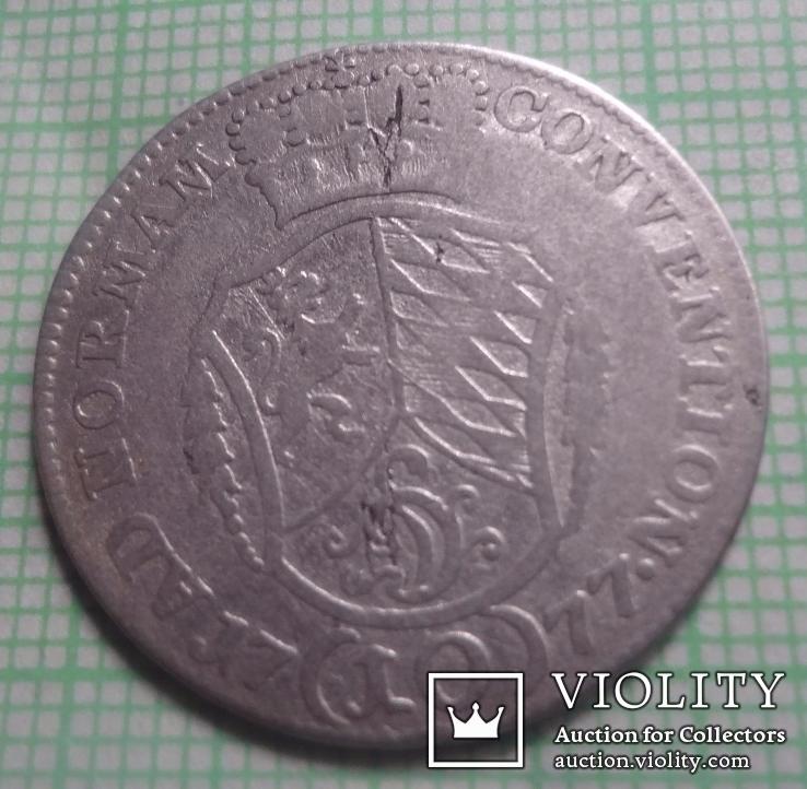 Германия 10 крейцеров 1777 серебро (1.1.8)~, фото №3