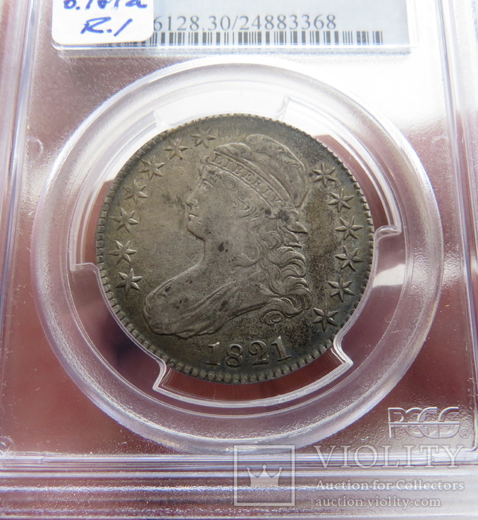 50 центов 1821 год США