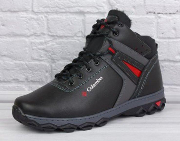 Новые стильные мужские зимние ботинки 45р.
