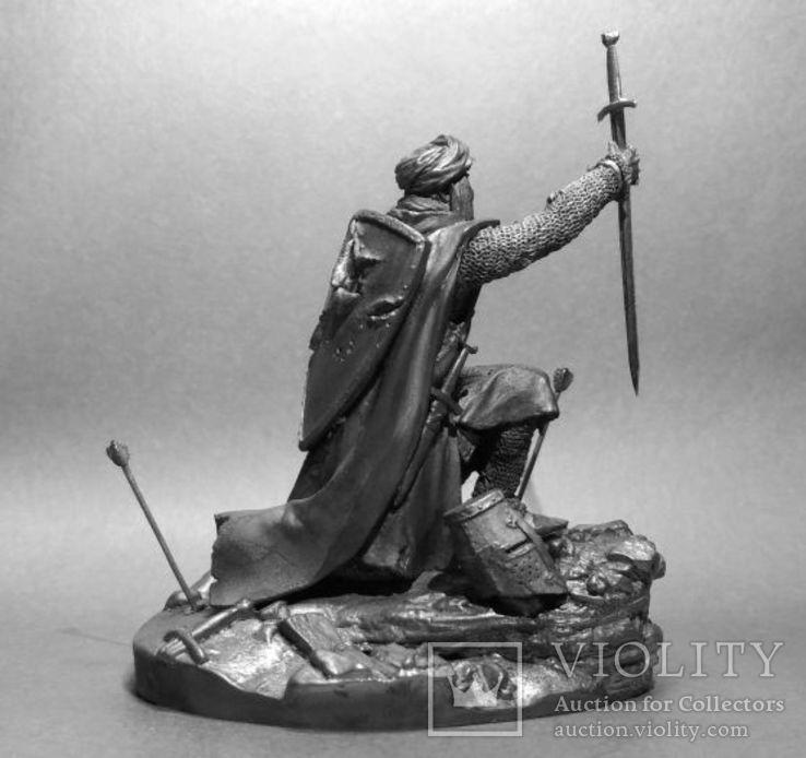 Рыцарь Ордена Тамплиеров на Святой Земле 12 век. 75мм., фото №3