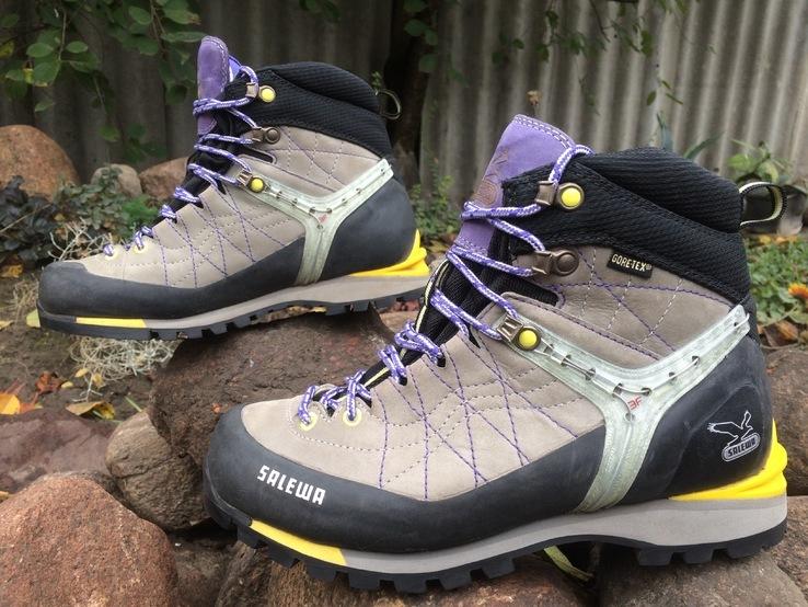 Трекінгові черевики Salewa ms rapace gtx grey/yellow