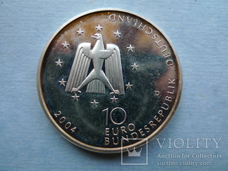 10 евро. 2004 год. Германия., фото №5