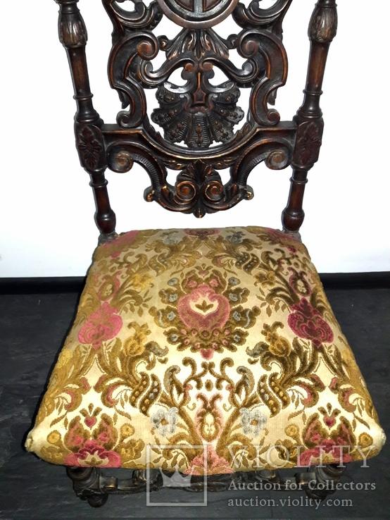 Резной стул, фото №4