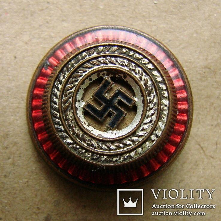 """""""глазок"""" фуражечной кокарды NSDAP"""