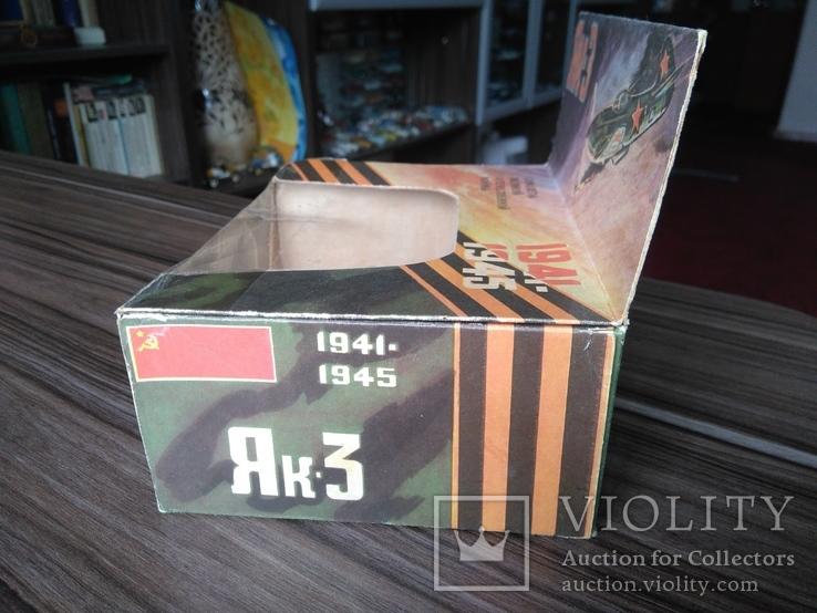 Коробка к модели як - 3 СССР 1 : 72, фото №5