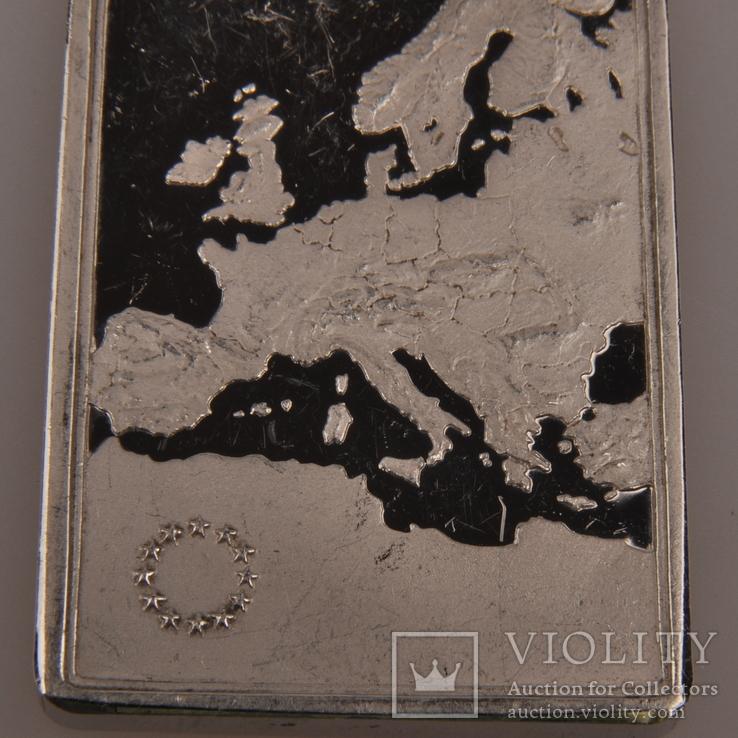 Плакетка серебро 925 Италия., фото №3