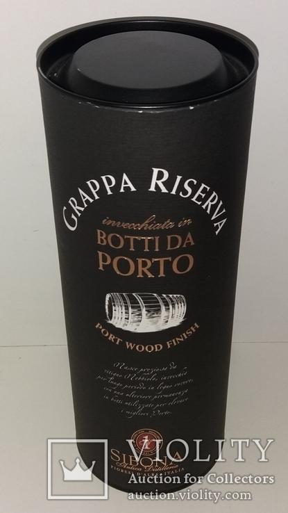 Граппа Grappa Sibona Riserva Botti Da Porto Wood Finish, Италия, фото №6