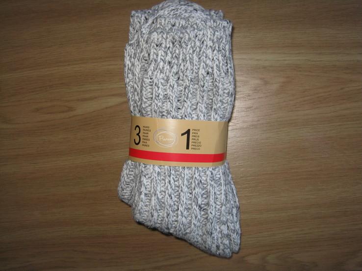"Теплые носки , 3 пары""Piarini"", р.39-42, Германия."