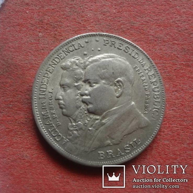 2000 Рейс 1922 Бразилия серебро  (ж.3.15)~