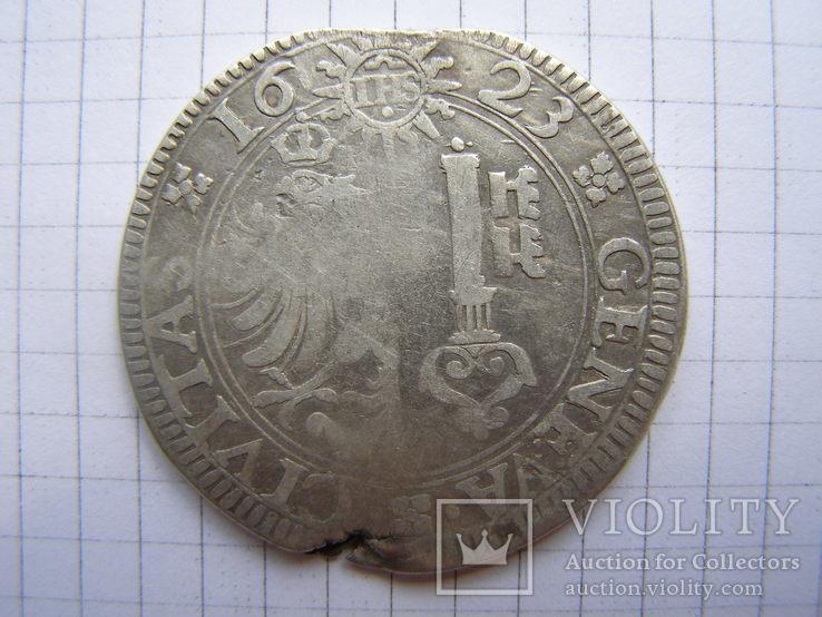 Талер Женева, Швейцария 1623