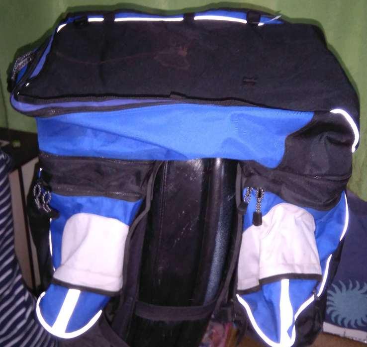 Уникальная велосумка / рюкзак  на багажник.