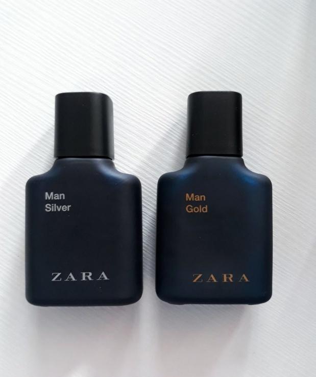 Духи, туалетная вода Zara Man Gold + Silver