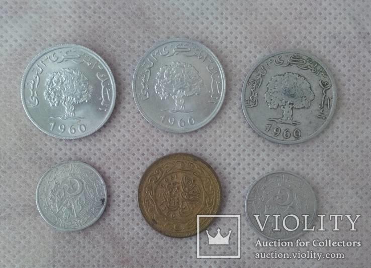 Монети Тунісу та Алжиру, фото №3