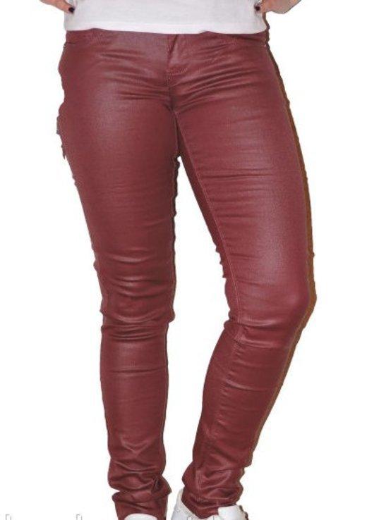 Классные джинсы  бордо рр 25
