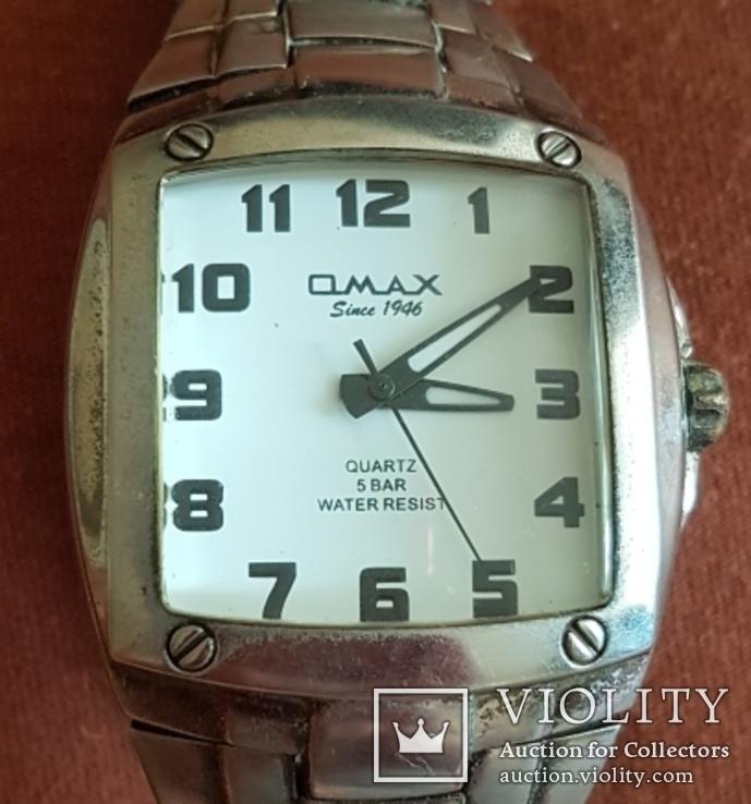 Часы-подделка OMAX 5 bar water resist, фото №2