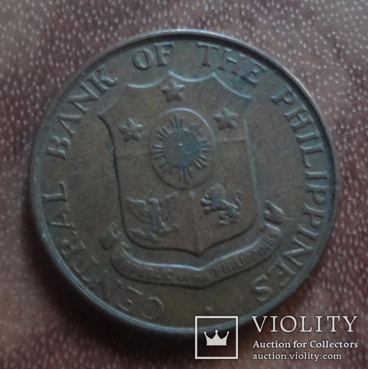 1 центаво 1963 Филлипины  (М.5.29)~, фото №3
