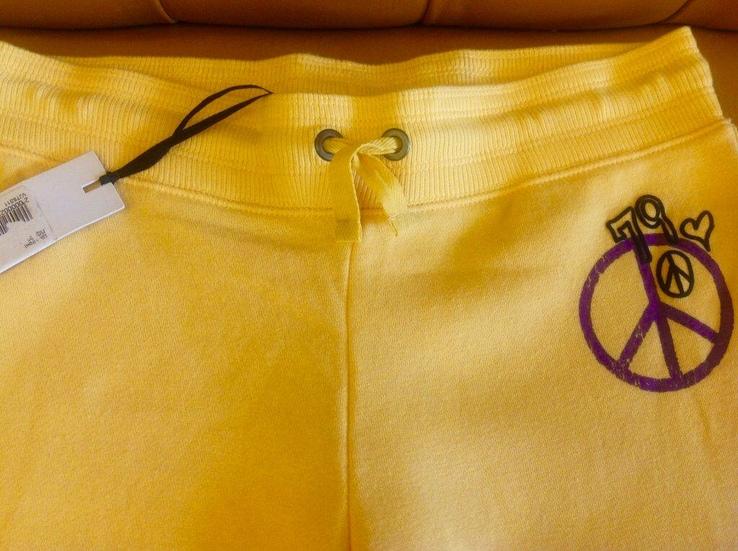 Брюки спортивные ярко-желтые, новые, р.42-44, фото №3