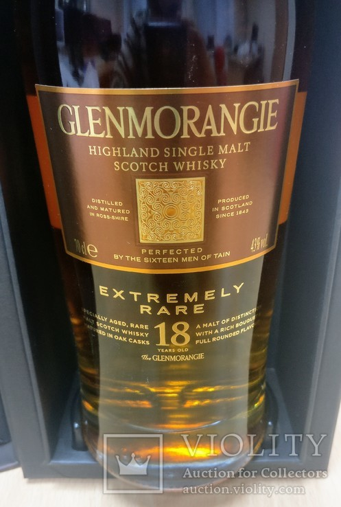 Glenmorangie 18 Y.O. Extremely Rare 70cl, 43%