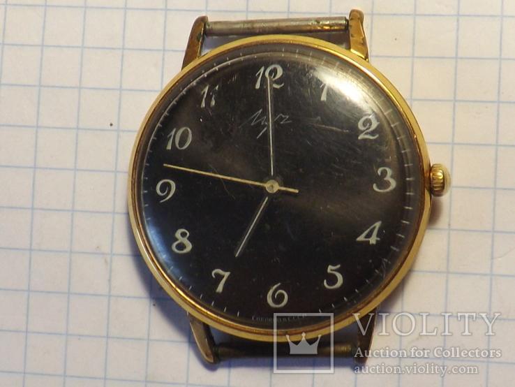 Наручные часы в позолоте - Луч.  АУ - 20