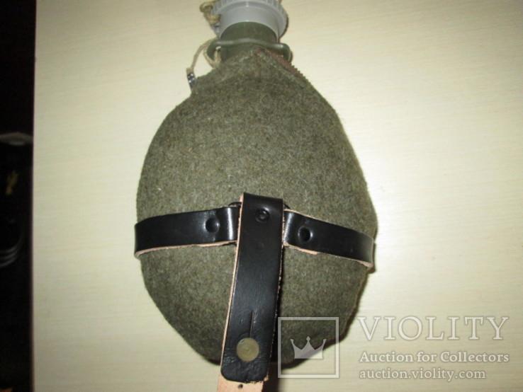 Чешская фляга с войлочнім чехлом, фото №3